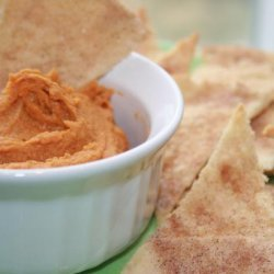 Peanut Butter Pumpkin Dip With Cinnamon Chips recipe