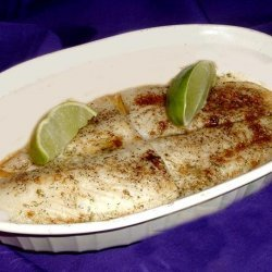 Broiled Fish with Dill Butter recipe