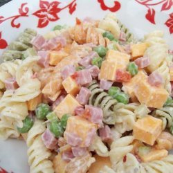 Cheddar Pasta Toss recipe