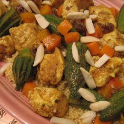 Spiced Chicken & Couscous recipe