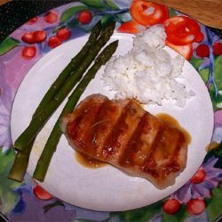 Glazed Ham Steaks recipe