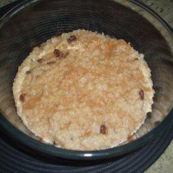 Vegan Brown Rice Pudding recipe