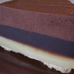 Chocolate Caramel Pie (No Bake) recipe