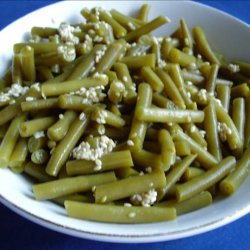Green Beans With Sesame recipe