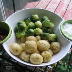 Do It Yourself Baby Potatoes Great Appetizers for the Holidays! recipe