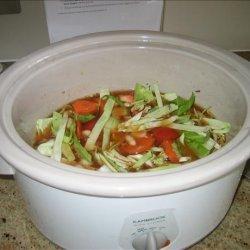 Italian Cabbage & Bean Soup recipe