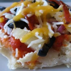 Ibs-Friendly Pizzas English Muffin &  Sourdough recipe