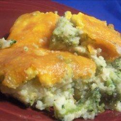 Broccoli Potato Kugel recipe