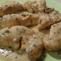 Veronica's Chicken in Cream Sauce recipe