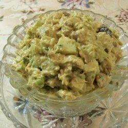 Curried Chicken Chutney Salad recipe