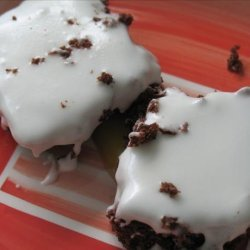 Ww 3 Points - Iced Chocolate Brownies recipe