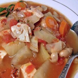 Chicken and Vegetable Bean Soup recipe
