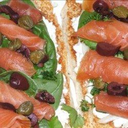 Smoked Salmon Pizza recipe