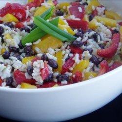Caribbean Rice and Black Bean Salad recipe