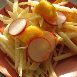 Jicama, Radish and Mango Salad recipe