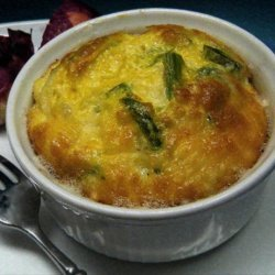 Low Fat Cheese and Asparagus Soufflé recipe