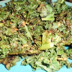 Spicy Thai Ginger Kale Chips recipe