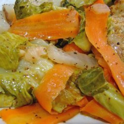 Buttery Cabbage and Carrots recipe