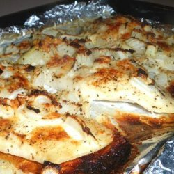 Easy Cheese Baked Fish recipe