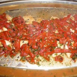Chicken Breasts With Roasted Red Peppers recipe