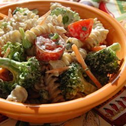 Creamy Broccoli Pasta Salad recipe