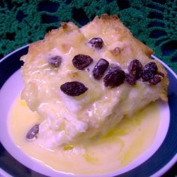 Bread Pudding With Warm Whiskey Sauce recipe