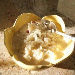 Rice Pudding  With Raisins and Cinnamon (Arroz Con Leche) recipe