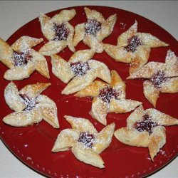 Puff Pastry Pinwheel Cookies With Jam recipe