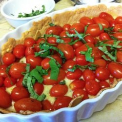 Fresh Tomato Tart recipe