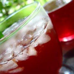 Cranberry and Orange Iced Tea recipe