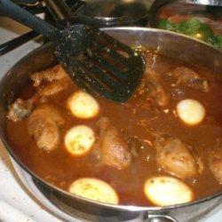 Ethiopian Doro Wat (Chicken Stew) recipe