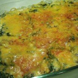 Casserole Spinach recipe