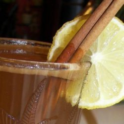 Hot Buttered Apple Drink recipe