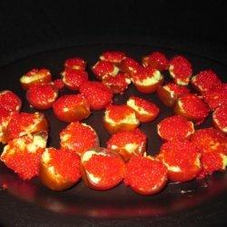 Cherry Tomatoes with Guacamole recipe