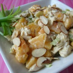 Curried Chicken Salad With Nectarines recipe