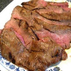Beer Soaked Flank Steak recipe