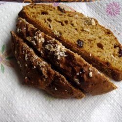 Oatmeal Molasses Bread - No Yeast Quick Bread recipe