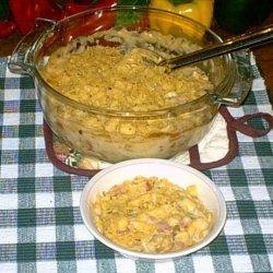 Hominy Cheese Casserole recipe