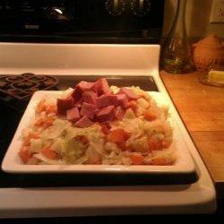 traditional Irish Ham and Cabbage Dinner recipe