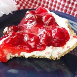 Easy Cherry or Blueberry Cream Pie (No-Bake) recipe