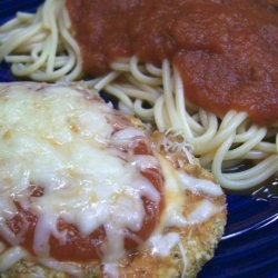 Easy Cheesy Chicken Parmesan recipe