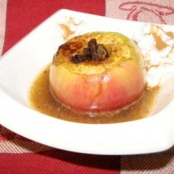 Almost Instant Baked Apple recipe