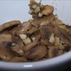Sauteed Garlic Mushrooms recipe