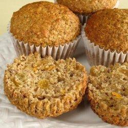 Yummy Bran & Flax Muffins recipe