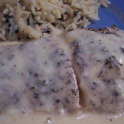 Quick Chicken With Gouda Gravy recipe
