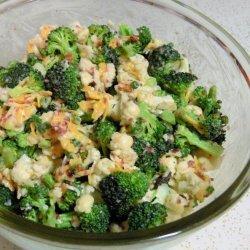 Broccoli,cauliflower Salad recipe