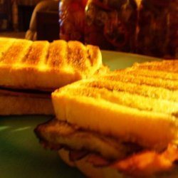 Cheesy Grilled Eggplant Sandwiches recipe