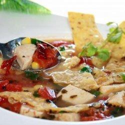 Mexican Chicken Tortilla Soup recipe
