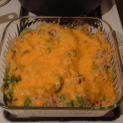Baked Broccoli With Rice recipe