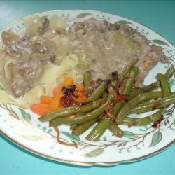 Pork Chops in Mushroom Gravy recipe